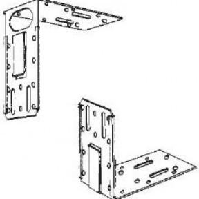 Телескопична пета за врата 2mm за CW или UA профили