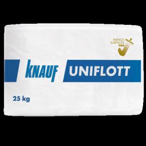 Фугираща и шпакловъчна маса Knauf Uniflott