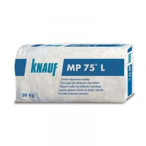 Лека гипсова мазилка за машинно нанасяне Knauf MP 75 L