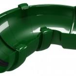 CLASSIC 120 PVC Универсален ъгъл за улук 60°-160° - Зелен