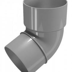 CLASSIC 120 PVC - Бежов , Бял , Керемиден , Бордо , Кафяв , Сив , Черен Дъга 67.5° Ø 80