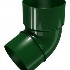 CLASSIC 120 PVC Дъга 67.5° Ø 80 - Зелен