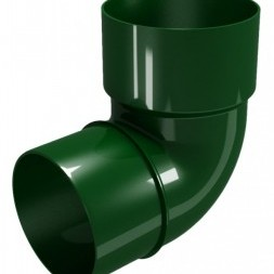 CLASSIC 120 PVC Дъга 87.5° Ø 80 - Зелен
