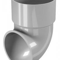 CLASSIC 120 PVC - Бежов , Бял , Керемиден , Бордо , Кафяв , Сив , Черен Завършващо коляно Ø 80
