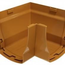 ELEGANCE 140 PVC Ъгъл 90° за улук - A вътрешен