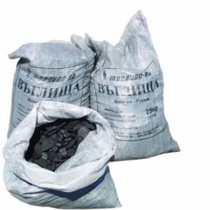 Въглища Непресети 25-60 мм., пакетирани , 25 кг.