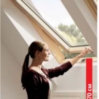 Покривни прозорци с Долно управление Велукс СТАНДАРТ GZL 1051 B