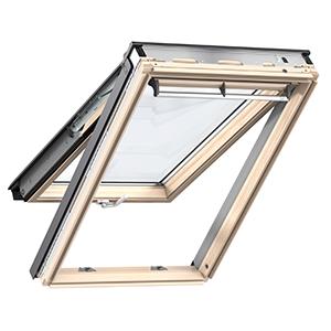 Покривни прозорци с Двойна ос  на отваряне Велукс ПРЕМИУМ GPL 3050