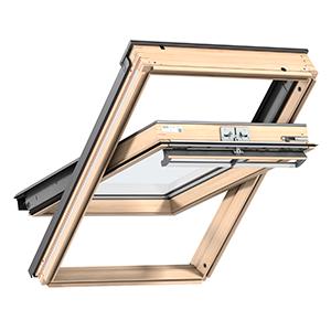 Покривни прозорци с Горно управление Велукс ПРЕМИУМ GGL 3066