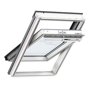 Покривни прозорци с Горно управление Велукс ПРЕМИУМ GGU 0066