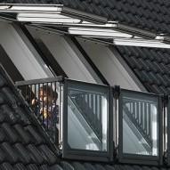Покривен прозорец - балкон VELUX Cabrio®