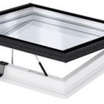 Прозорци за плосък покрив с плоско стъкло