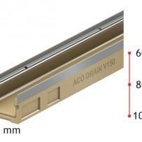 Нископрофилен улей ACO MultiDrain V 100 S , 8 см. , с отвор