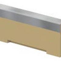 Комбинирана челна плоча за нископрофилен улей V 100 S , 6 см.