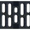 V 100 S решетка с напречни отвори чугун , 50 см. ,  С 250