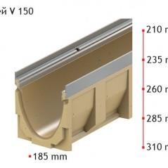 Улей ACO MultiDrain V 150 S 0.1