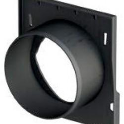 X150 Челна плочка с щуцер за хоризонтално оттичане