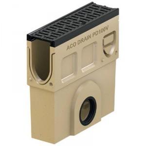 Събирателна шахта ACO Monoblock PD 100 V с изход DN100