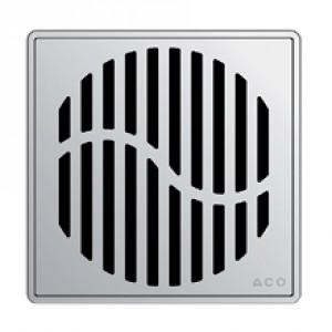 Kвадратна решетка от неръждаема стомана Wave