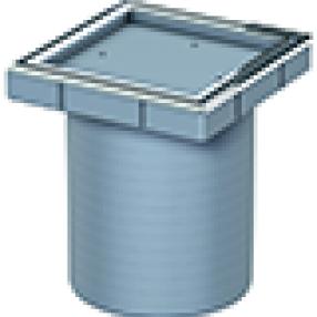 Надстройка от ABS за вграждане на подова настилка от 26 до 135 mm
