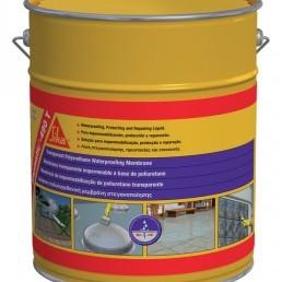 Прозрачна полиуретанова хидроизолационна мембрана SikaLastic 490T , 5 кг.