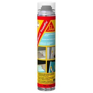Пистолетна полиуретанова пяна за топлоизолация и плоскости Sikabond FoamFix