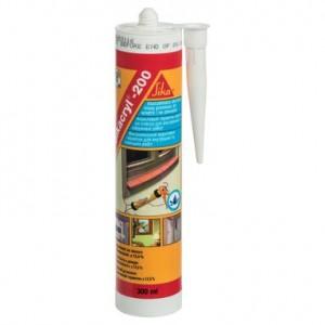 Акрилен уплътнител за външна употреба Sikacryl-200 , бял , 300 мл.