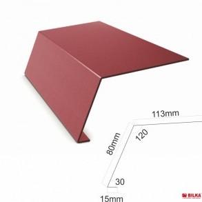 Надулучна пола 156 mm. , мат 0,45 mm