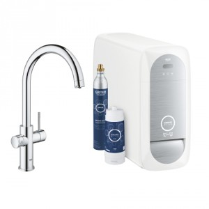 Комплект с С- чучур GROHE Blue Home