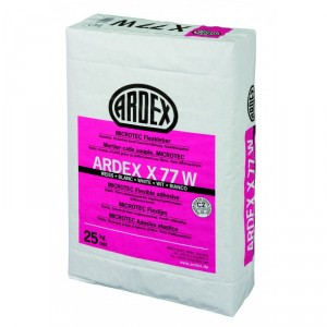 MICROTEC Еластично лепило, бяло ARDEX X 77 W