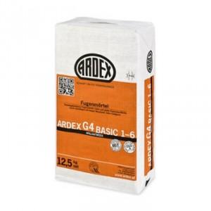 Фугираща маса на циментова основа ARDEX G4 Basic 1-6