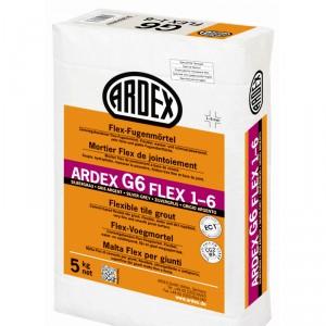 Еластична фугираща маса на циментова основа ARDEX G6 Flex 1-6