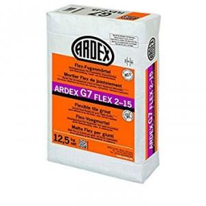Еластична фугираща маса на циментова основа ARDEX G7 Flex 2-15