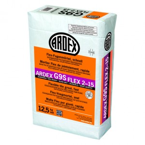 Еластична фугираща маса ARDEX G9S Flex 2-15