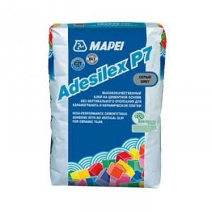 Лепило за керамични плочки и гранитогрес ADESILEX P7