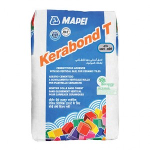 Лепило за керамични плочки Kerabond T , сиво , 25 кг.