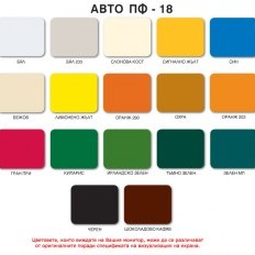 Автоемайллак алкиден АВТО ПФ-18 , Бял RAL 9016 , 0.700 л