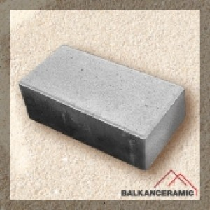 Балканкерамик Тротоарно паве 10x20x8 см. , сиво