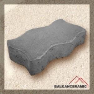 Балканкерамик Паве Паролин 24x13x6 см. , сиво