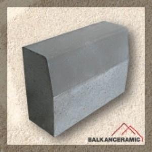 Балканкерамик Магистрален (уличен) бордюр 18x35x50 см.
