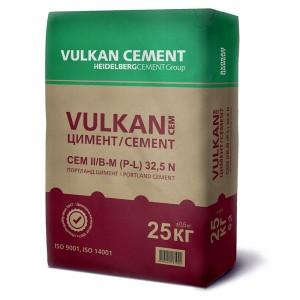 Смесен портланд цимент VULKAN CEM II/B-M (P,L) 32,5 N