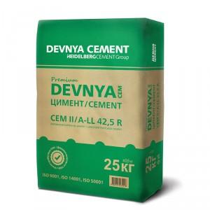 Варовиков портланд цимент DEVNYA Premium CEM II/ A-LL 42,5 R