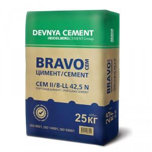 Варовиков портланд цимент BRAVO CEM II/ B-LL 42,5 N