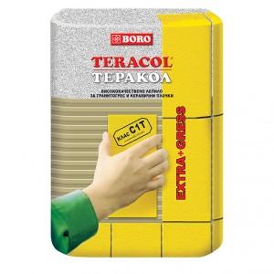 Лепило за гранитогрес и керамични плочки Теракол C1Т , 25 кг.