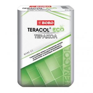 Лепило за гранитогрес и керамични плочки Теракол ЕКО , клас C1 , 25 кг.