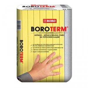 Лепило и шпакловка за топлоизолации Боротерм сив