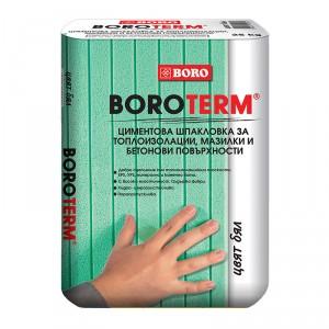 Шпакловка за топлоизолации Боротерм бял