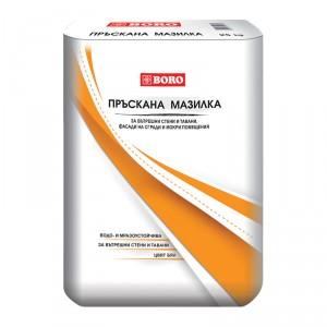 Водоустойчива и мразоустойчива Пръскана Мазилка , 25 кг.