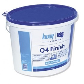 Финишна шпакловка AQUAPANEL®  Q4 Finish