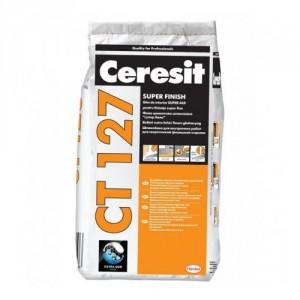 Фина циментова шпакловка Ceresit CT 127 , 5 кг.